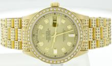 Rolex 18K Yellow Gold 36mm Day-Date WA39003