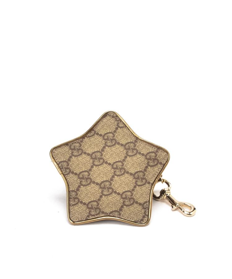 Gucci GG Coin Purse with Key Chain WX729