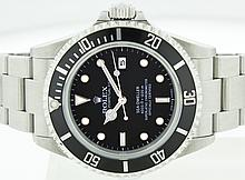 Rolex SS 40mm mens Sea-Dweller 16600 WA18603