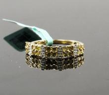 14kt Yellow Gold 0.69ctw Diamond Ring W1690