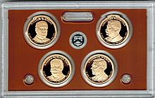 2013 United States Presidential $1 Coin Proof Set W55