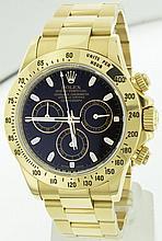 Rolex 18k YG 40mm Daytona 116528 WA63903