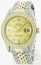 Rolex SS & 18K YG 36mm DateJust WA10953