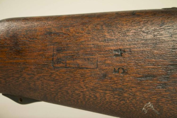 Japanese Type 99 Arisaka Rifle, unusual unmarked example, Se