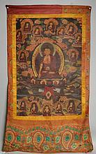 Tibetan Thangka Shakyamuni Buddha
