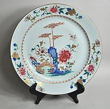 Rare Large Chinese Export Porcelain Charger