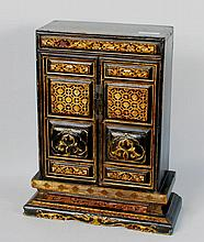 Chinese Carved & Gilt Lacquer Shrine