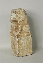 Early Stone Figure Foo Dog