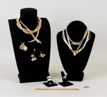 Group Costume Jewelry, Coro Snake Necklace