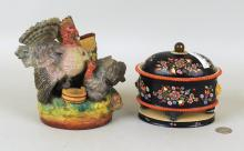 Two Porcelain Items