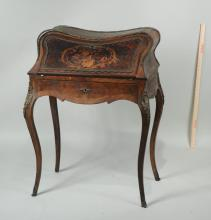 French Marquetry Ladies Desk