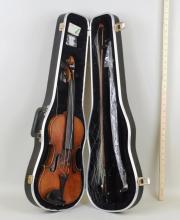 Cased Violin, Copy of Antonius Stradivarius