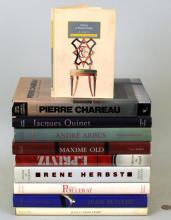 Group Ten Reference Books on French Designers