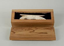 Inuit or Northwest Coast Carved Bone Soul Catcher