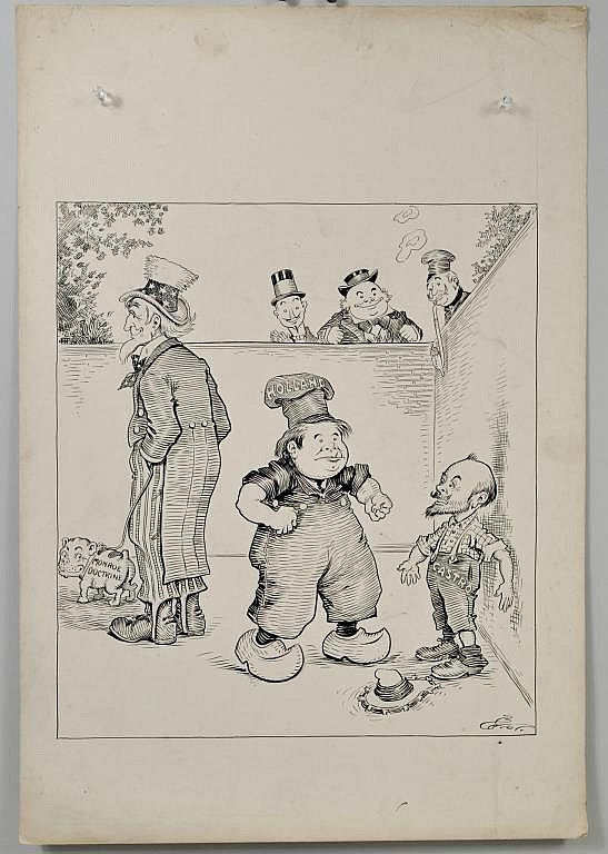 C. L. Bartholomew Political Cartoon