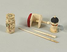 Group Five Ivory Items