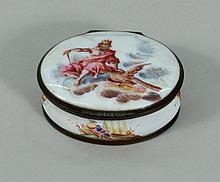 English Battersea Enamel Box