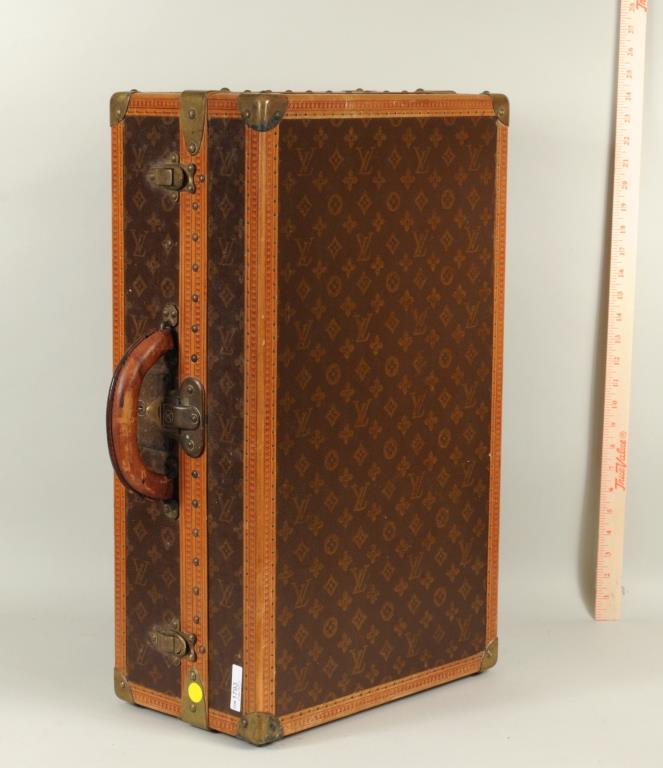 Vintage Louis Vuitton Twin Shoebox Trunk