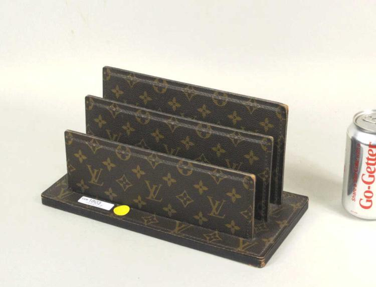Vintage Louis Vuitton Stationery Caddy