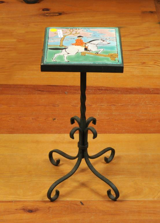 Arts & Crafts Tile Top Table