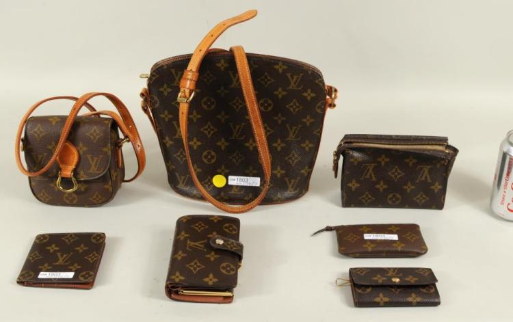 Group Seven Louis Vuitton & Vuitton Style Items