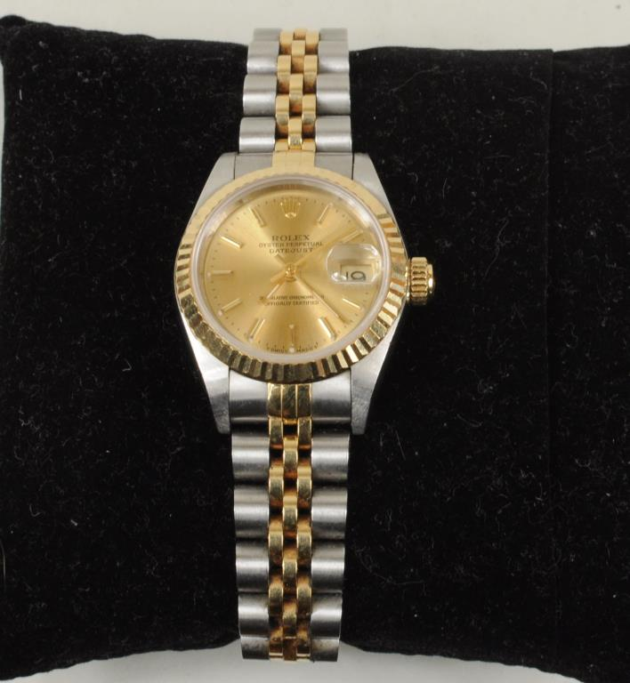 Ladies Two Jewel Rolex Watch