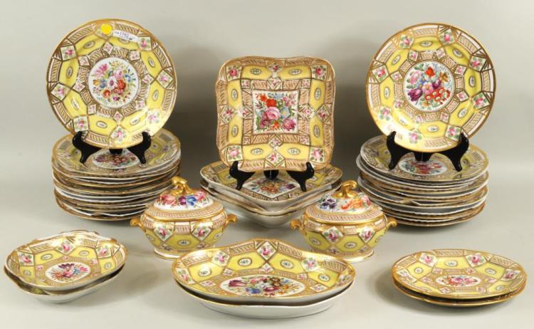 English Regency Period Coalport Porcelain
