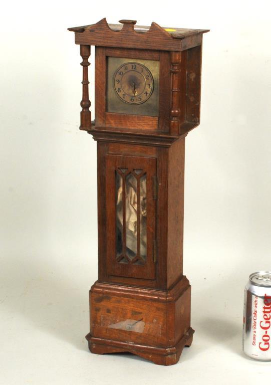 Miniature Oak Tall Clock