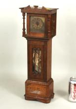 Miniature Oak Tall Clock