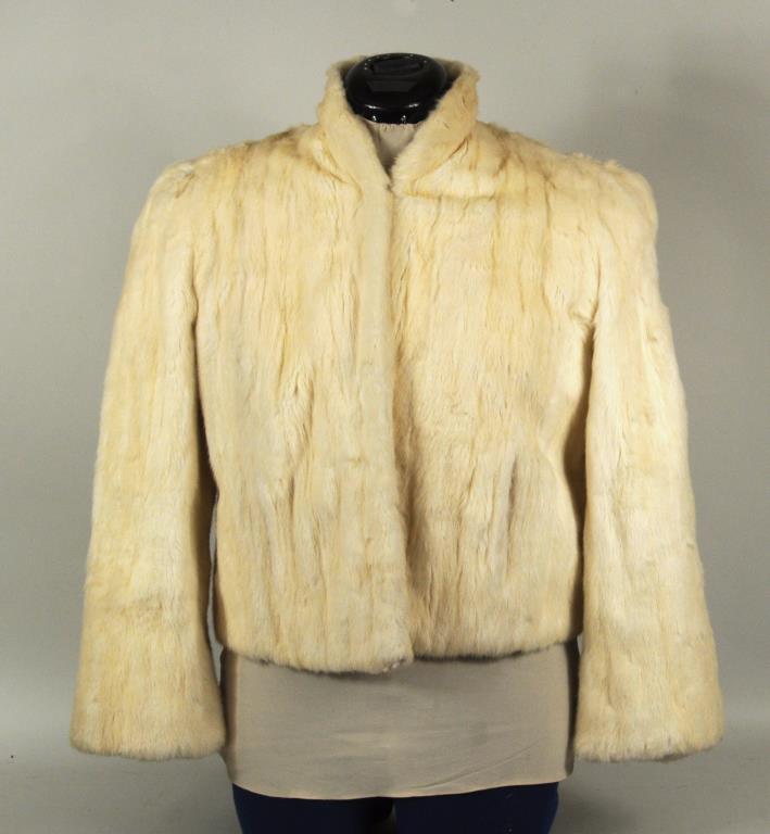 Vintage Ermine Jacket