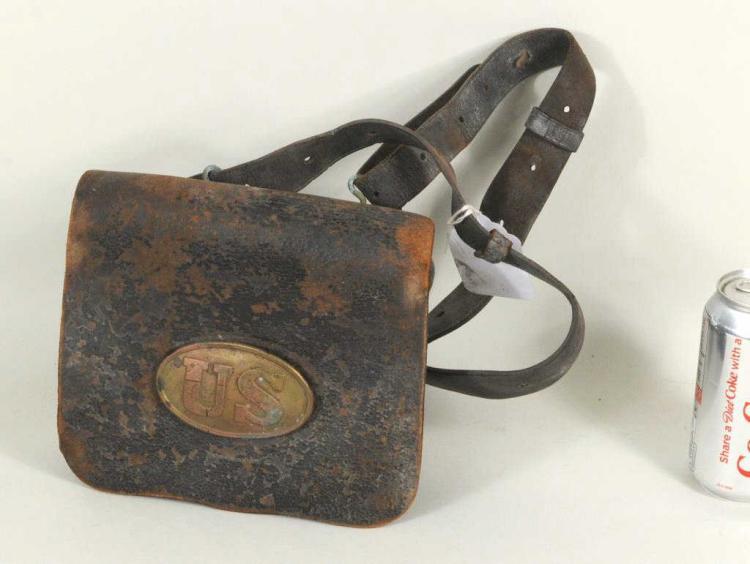 Civil War Union Infantryman's Cartridge Box