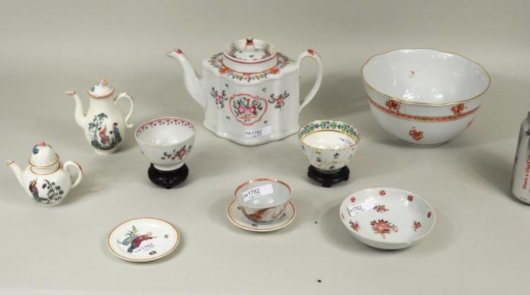Group English & Chinese Export Porcelain
