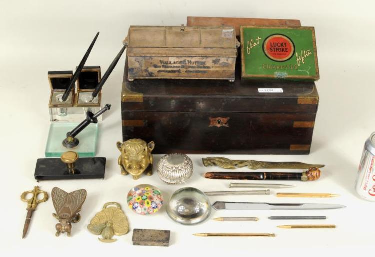 Group Assorted Desktop Items