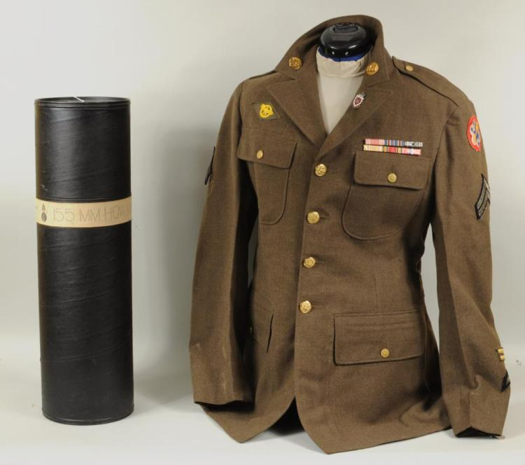 Two Vintage Military Items