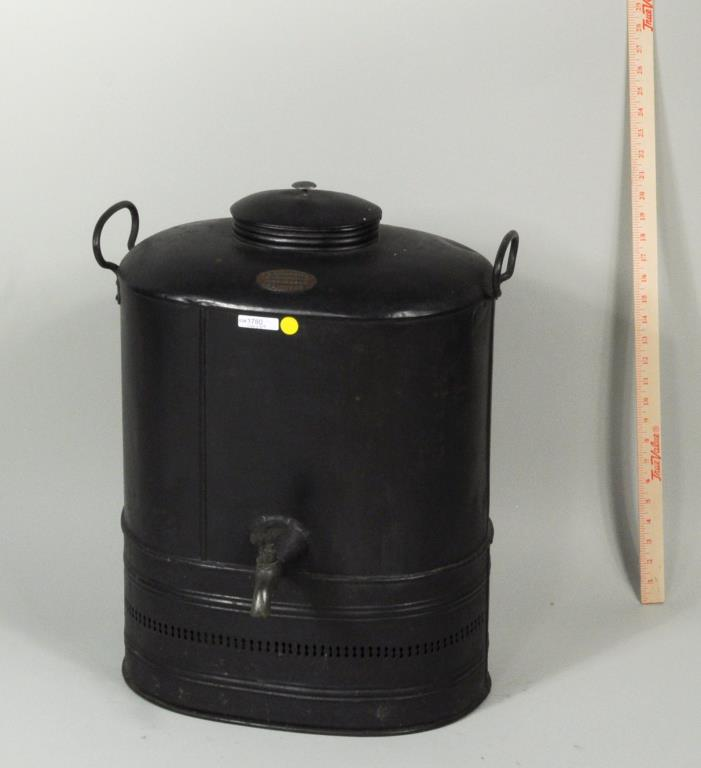English R.M. Harding Mfg. Tole Hot Water Dispenser