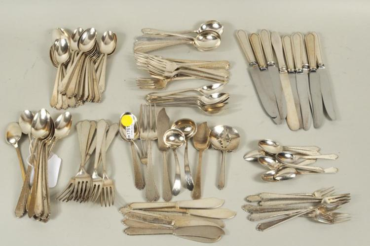 Lunt Sterling Silver Partial Flatware Service