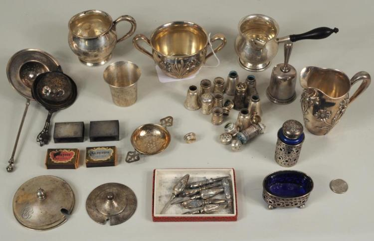 Group 8 Miscellaneous Sterling Silver Items