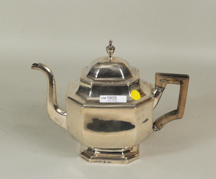 American Coin Silver Coffee Pot