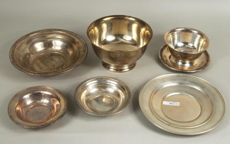 Group Six Sterling Silver Bowls