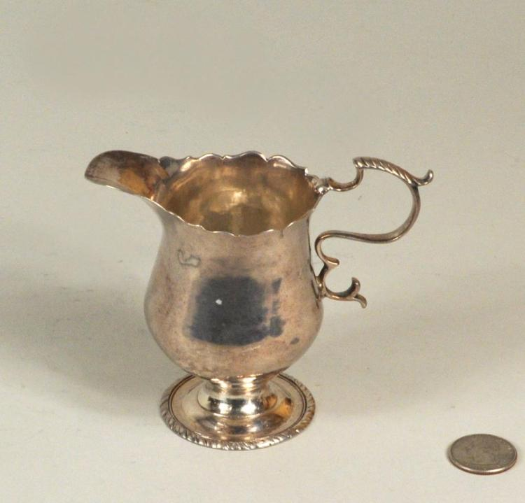 American Coin Silver Pitcher