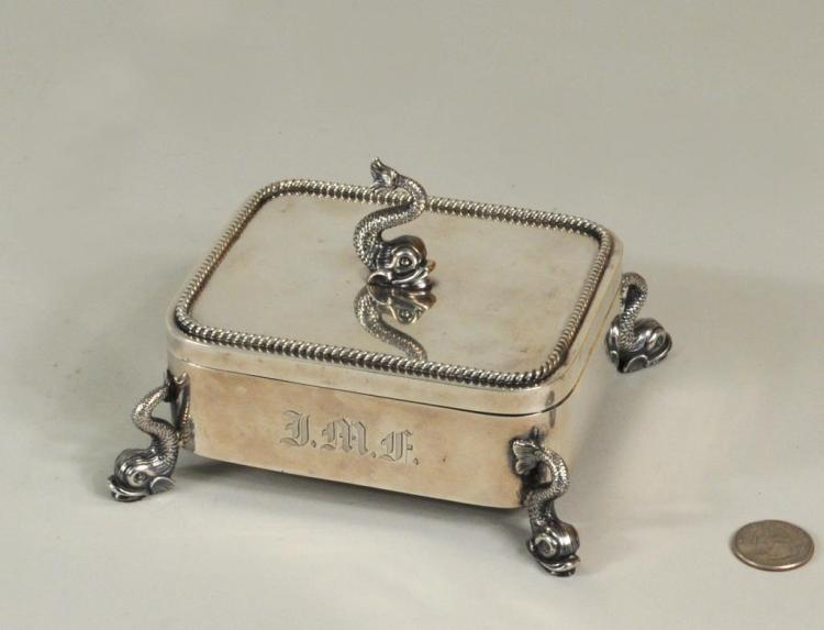 Tiffany & Co. Sterling Silver Sardine Box