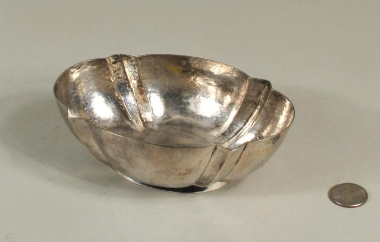 William Spratling Oval Sterling Bowl