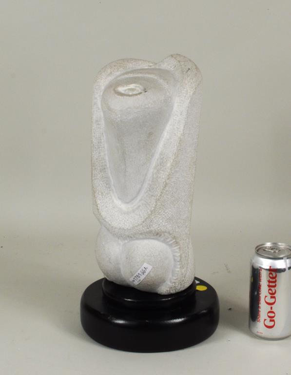 Mid-Century Abstract Marble Sculpture