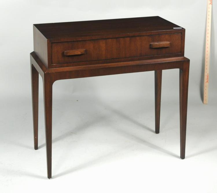 Mid-Century Modern One Drawer Side Table