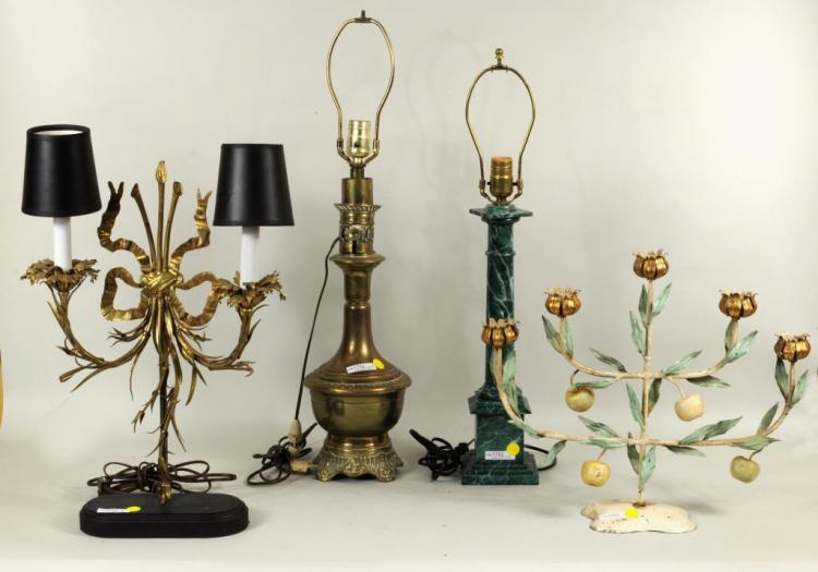 Group Table & Decorative Lamps