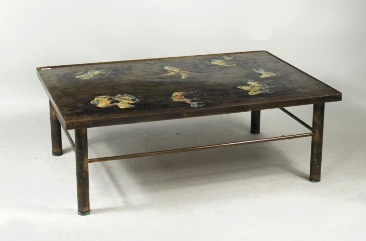 Philip & Kelvin Laverne Mid-Century Coffee Table