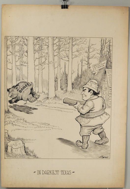 Charles Lewis Bartholomew Political Cartoon