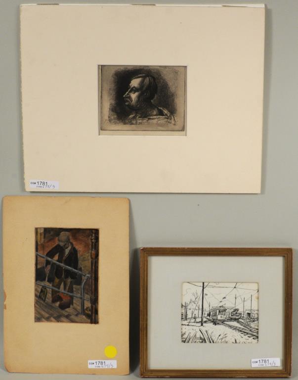 Three Small Artworks