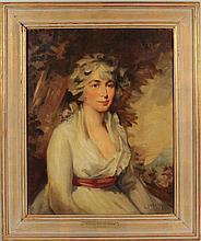 "Adrian Lamb ""Portrait Of A Lady"" O/C"