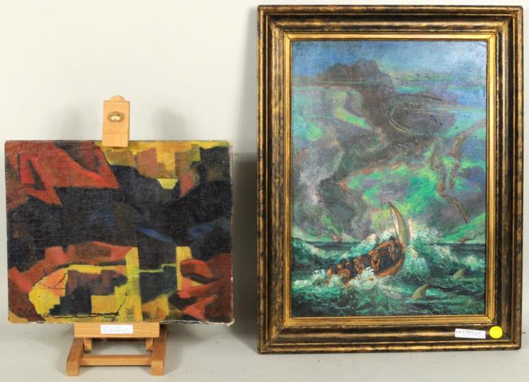 John J. Benninger Two Oils